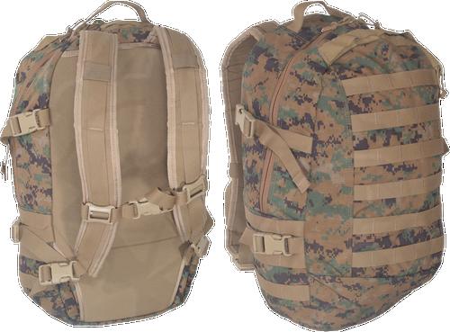 Genuine Military Issue ILBE Assault Pack Woodland Digital (Used)