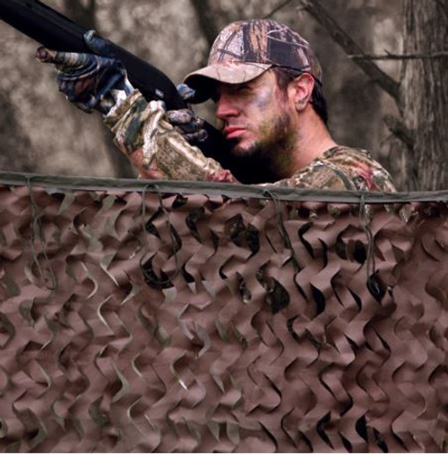 """Red Rock Outdoor Gear Big Game Field Series Camo Netting SIZE 7'10"""" x 9' 10"""""""