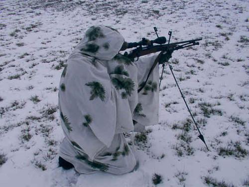 European Snow Poncho
