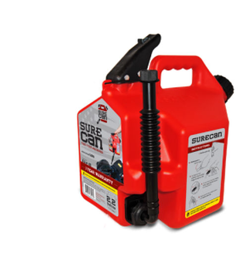 SureCan 2.2 Gallons Jerry Can