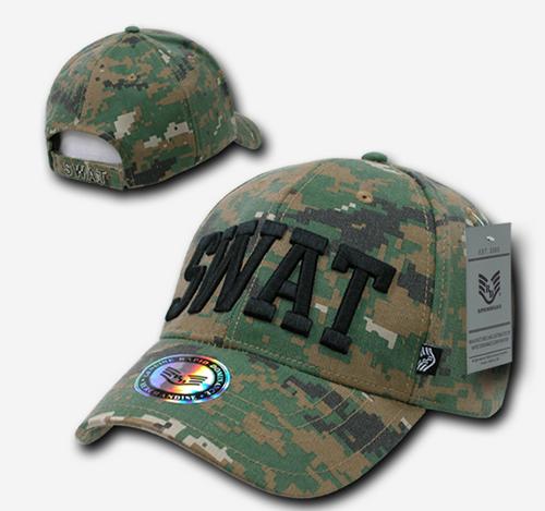 SWAT Woodland Digital Cap