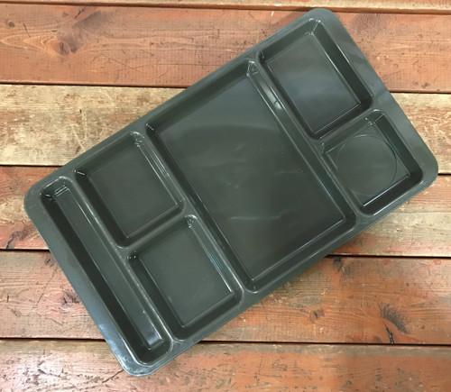 Plastic Food Tray OD Green