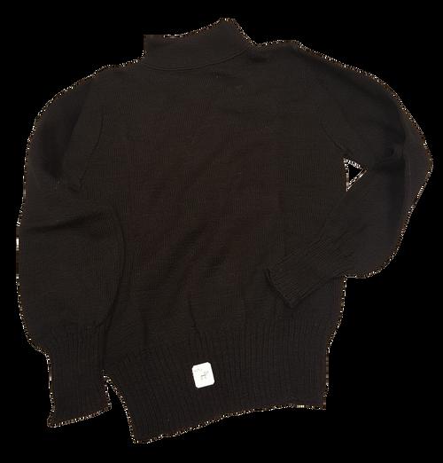 Children's 100% wool Sweater Black