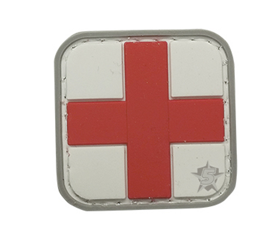 PVC MORALE PATCH - RED CROSS