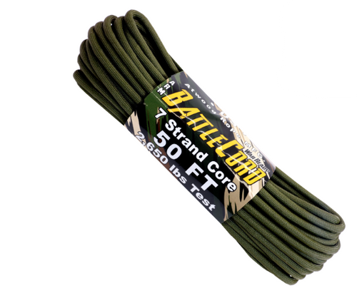 Atwood Rope MFG Battle Cord x 50ft OD Green