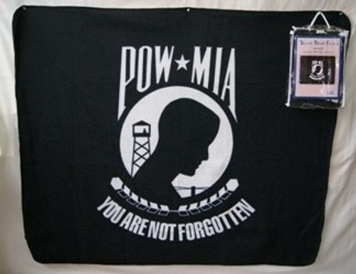 POW/MIA Polar Fleece Blanket