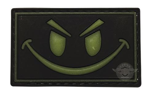 PVC MORALE PATCH - GLOW-SMILE