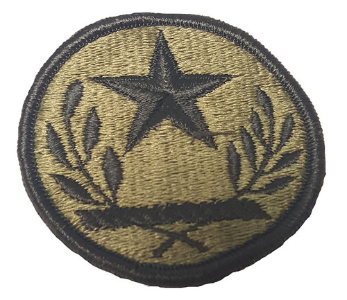 Military Issue Texas National Guard Subdued OD