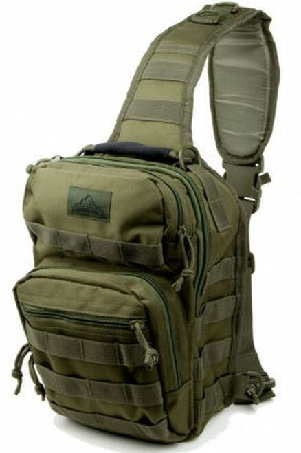 RED ROCK OUTDOOR ROVER GEAR SLING BACKPACK O.D.