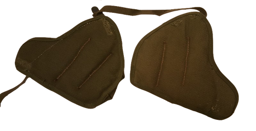 Genuine Military Issue Vietnam Era 81mm or 60mm Mortar Shoulder Pad Set