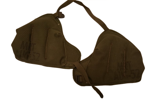 Genuine Military Issue Vietnam Era 81mm or 60mm Mortar Shoulder Pad Set