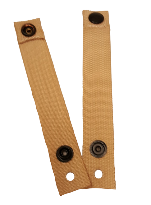 Military Issue Eyewear Retention Straps (Pair) Coyote Tan