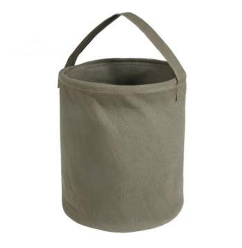 Rothco Canvas Large Water Bucket- OD Green