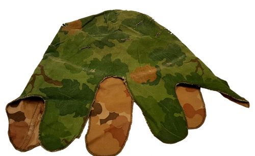 Genuine Issue U.S. Vietnam Mitchell Pattern Reversible Helmet Cover