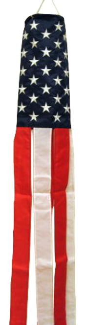 USA Flag Wind Sock