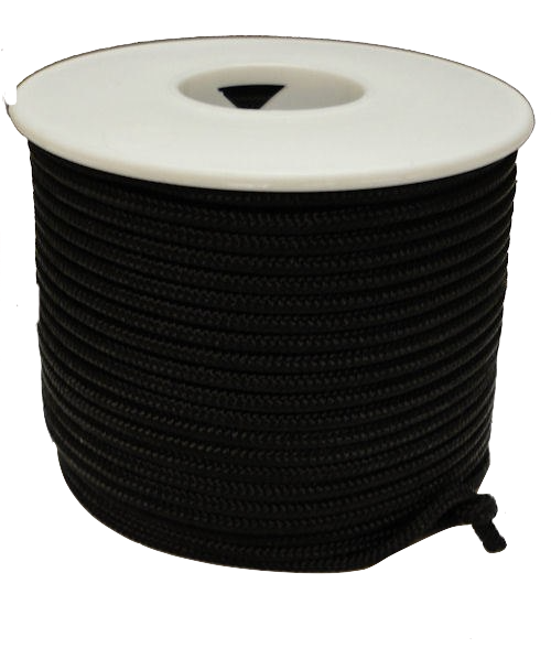 """Atwood Rope 1/16"""" x 100 ft Black Rope"""