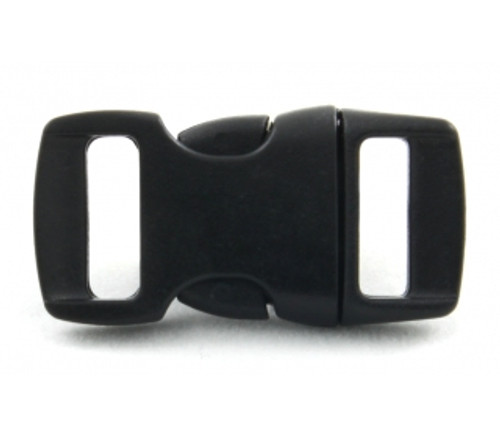 "3/8"" CURVED SIDE RELEASE PLASTIC BUCKLE 10 pack"