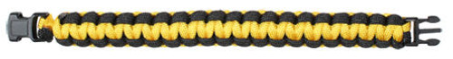 PARACORD BRACELET - YELLOW AND BLACK