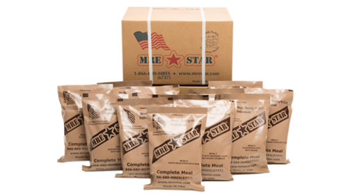 Complete MRE (MEALS READY TO EAT) MEAL KIT M-018H - Army Surplus ... dc9b8c2d46