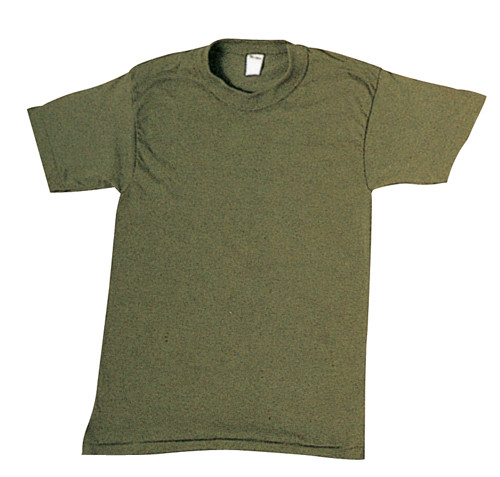 Undershirt Man's Olive Green Size XX-Small 3 pack