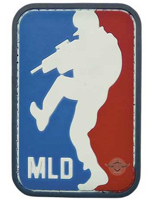 Morale PVC  Patch Major League Door-Kicker White