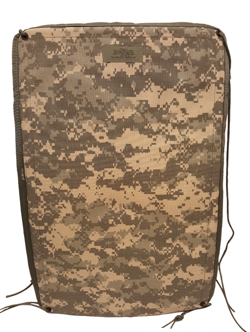 Military Issue MOLLE Vehicle Seat Panel ACU Digital