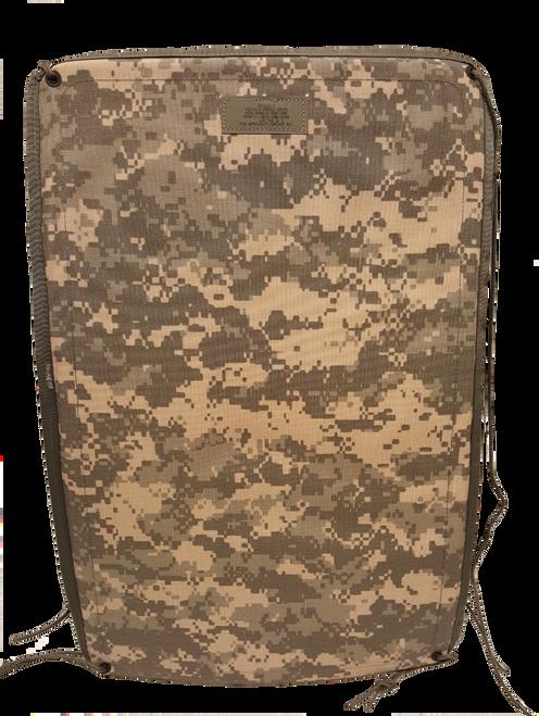 Military Issue MOLLE Vehicle Seat Panel ACU Digital