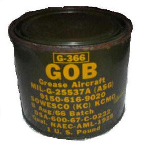 Military Issue Aircraft Bearing Grease High Temperature High Friction