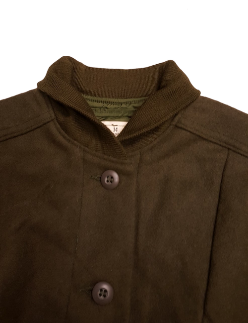 Military Issue Women's Cold Weather Wool Coat Liner (Size 18)