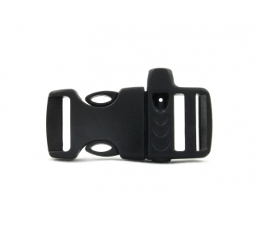 "5/8"" SIDE RELEASE PLASTIC WHISTLE BUCKLE 5 pack"
