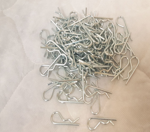 Military Issue Hitch Pin Clips  Bag of 100