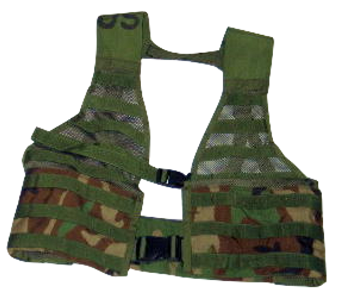 MOLLE II Fighting Load Carrier Vest Woodland Camo