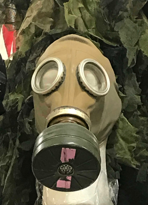 Adult's Gas Mask Model GP-5