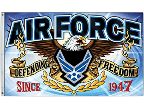 Freedom Fighter US Air Force Flag