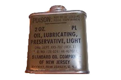 Oil, Lubricating, Preservative, Light