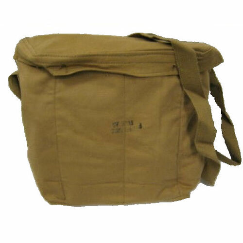 Tan Gas Mask Canister Bag - Tan Shoulder Bag