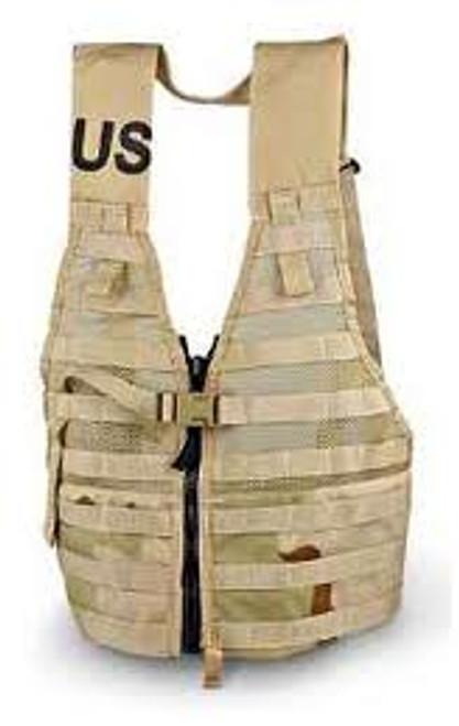 Load Carrier Vest Military Issue 3 color Desert