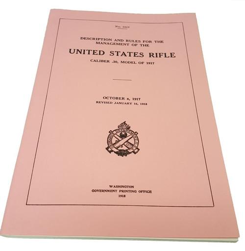 United States Rifle - Caliber .30 Model 1917 Manual
