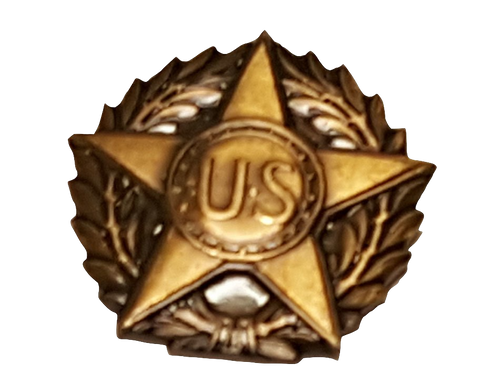 Military Issue Victory Medal Bronze Lapel Button