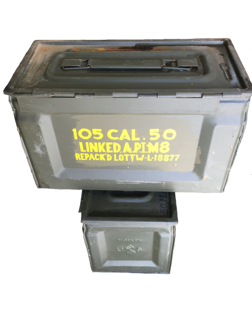 Ammo Box - 50 cal Can WWII