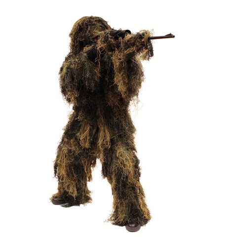 Ghillie Suit Woodland Camo