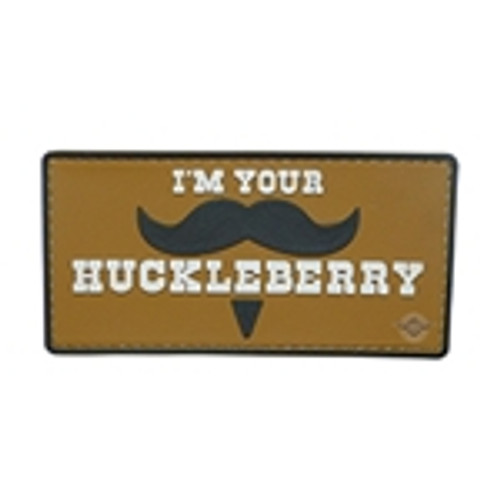 Morale Pvc Patch - I'm Your Huckleberry 6772