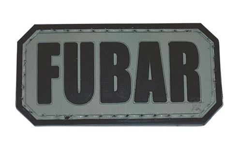 5ive Star Gear PVC MORALE PATCH - FUBAR