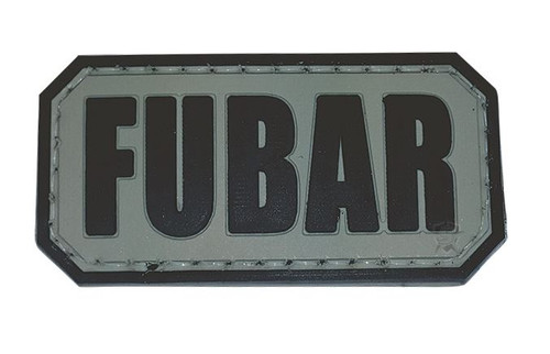 5ive Star Gear PVC MORALE PATCH - FUBAR