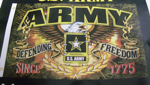 Freedom Fighter US Army Flag