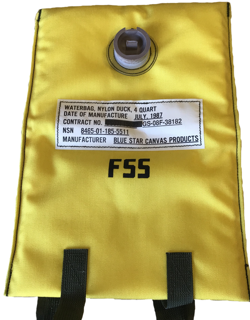 Nylon Duck Water Bag Forest Service