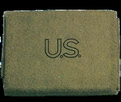 Olive Drab US 70% Virgin Wool Blanket