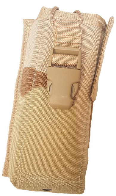Genuine Issue MBITR Radio Pouch 3-Color Desert