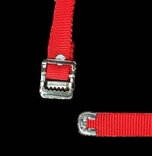 Nylon Strap Red 5 Ft
