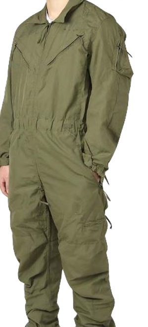 CVC Combat Vehicle Crewman Coverall OD Size Large Short